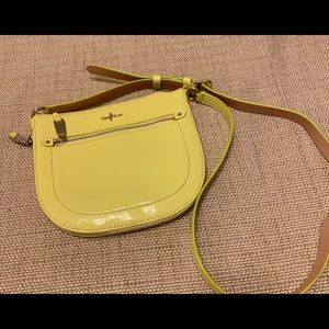 COLE HAAN Patent Leather Crossbody Purse